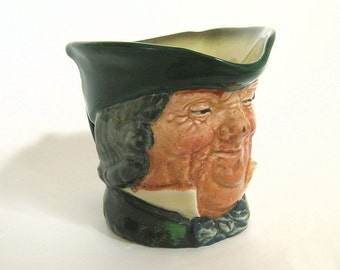 Royal Doulton, Toby Jug, Character Jug, Parson Brown, Vintage Collectible