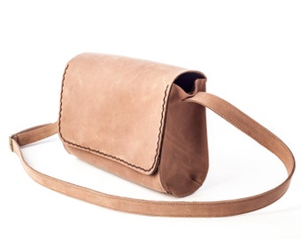 Leather Messenger Bag, Leather Messenger, Woman Bag