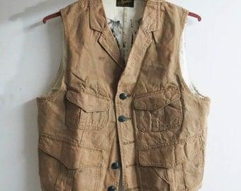 Stevenson Overall Company Vest canvas