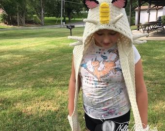 Pokémon Scoodie Hooded Scarf Meowth Teen Costume Pokémon Costume