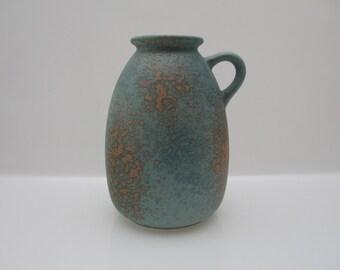 Pretty  vase by Scheurich 644-22 West German Pottery - Fat Lava