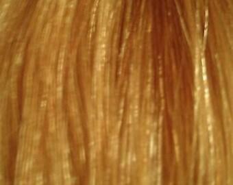 8 Inch Clip-in 100% Human Hair Extension Highlight / Streak Warm Blonde