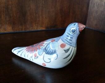 Ceramic Bird Mexico Sculpture