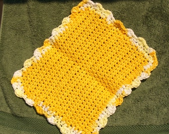 Yellow Dish Cloth