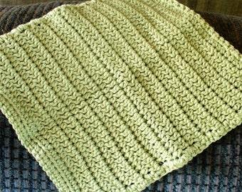 Plain Green Dish Cloth