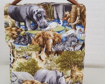 Lunch Box // Fabric Lunch Box // Children's Lunch Box // Toddler Lunch Box