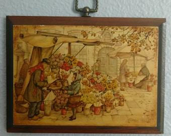 Rare Vintage Anton Pieck Print