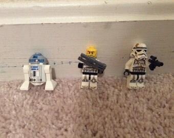 Star Wars set- clone trooper+ R2-D2
