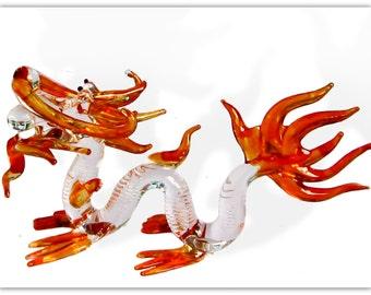 Fabulous glass figurine - Mangkon