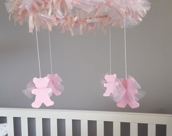 Teddy Bear Baby Mobile