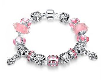 Girls Just Want to Have Fun Pandora Inspired Bracelet