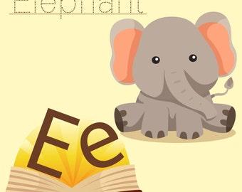 Illustrator of  elephant vocabulary