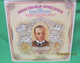 """Itzhak Perlman and Andre Previn - """"The Easy Winners & Other Ragtime - Angel Records"""