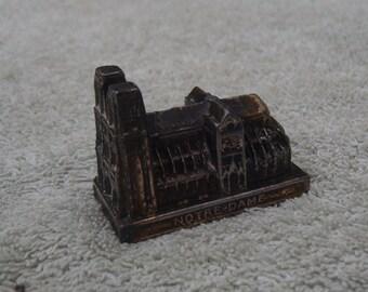 Brass Notre-Dame Souvenir - Vintage Brass - Notre-Dame, Paris, France
