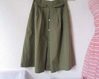 Vintage of 60s rock skirt Bardehle S