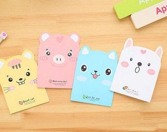 Small Notebook, Mini Notebook, Kids Notebook, Animal Notebook, School Notebook, Lined Notebook