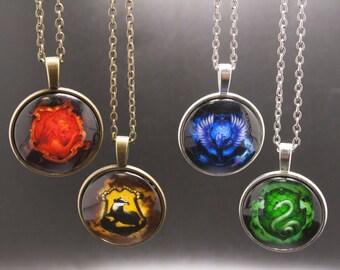 Hogwarts House Necklaces