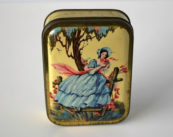 Dutch Cigar Tin - Francisca - Excellent for Jewelery