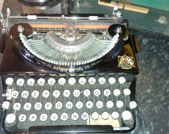 Imperial typewriter *good companion* model 1, 1938. (20pound postage)