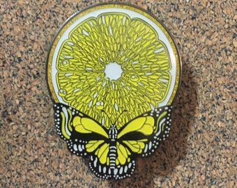 EXTREMELY RARE LE Steal Your Citrus Pin: Lemon