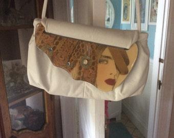 1980's Vintage Moon Bag