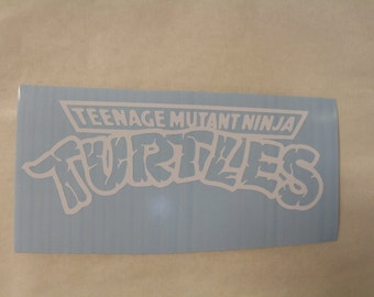 Teenage Mutant Ninja Turtle Logo Decal Any Size Any Colors