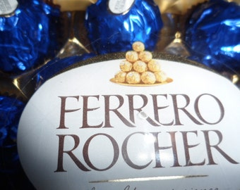 Royal Blue Wedding Ferrero Rocher 1 case of 24 pieces (300g)