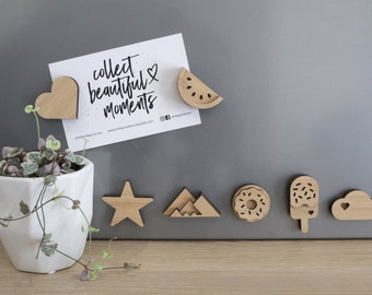 Fridge Magnets - Made from Bamboo