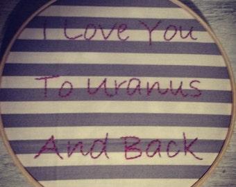 I love you. . .