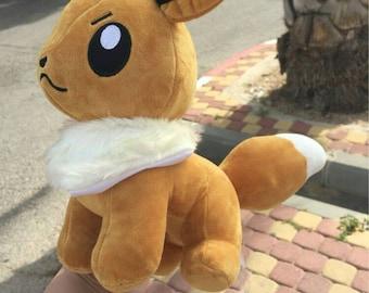 "Pokemon Eevee 12""30cm Soft Stuffed Animal Plush Toy"