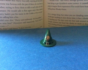 Lego Slytherin House Green Buckle Witches Hat Snake Hogwarts Professor Harry Potter Lego Accesory Minifigure