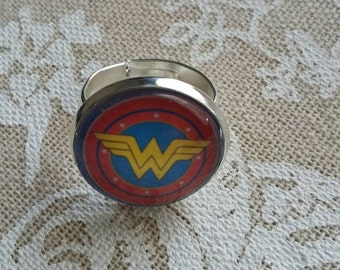 Wonder Woman silver ring
