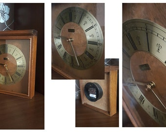 Vintage Ritz table clock made in Germany