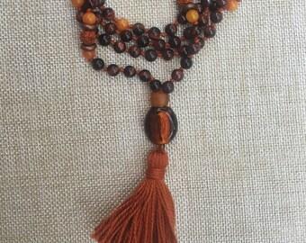 Mala Prayer Bead Meditation Necklace