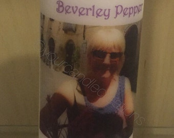 Heaven at our wedding-In loving memory-wedding memorial-family memorial-in loving memory keepsake-decorative candle-memory of you