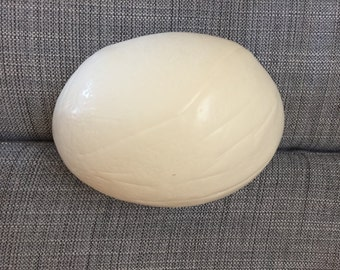 Ostrich Egg: Not quite perfect