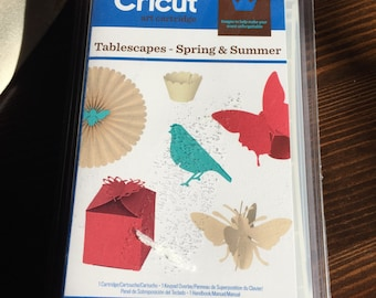30%OFF SALE Cricut Tablescapes Spring and Summer Cartridge