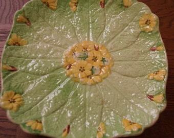 Rubian Art Pottery Primrose plate