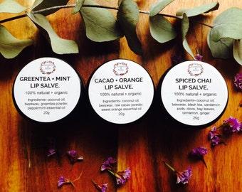 Organic Lip Salve