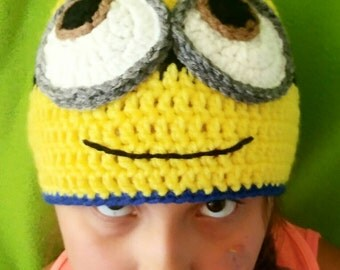 Two-eyed Minion Youth Hat