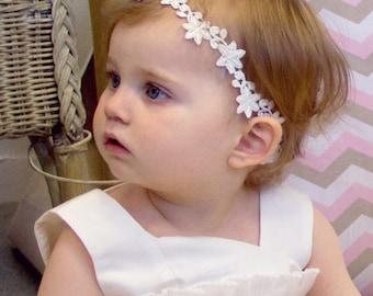 Customizable baby girl headband