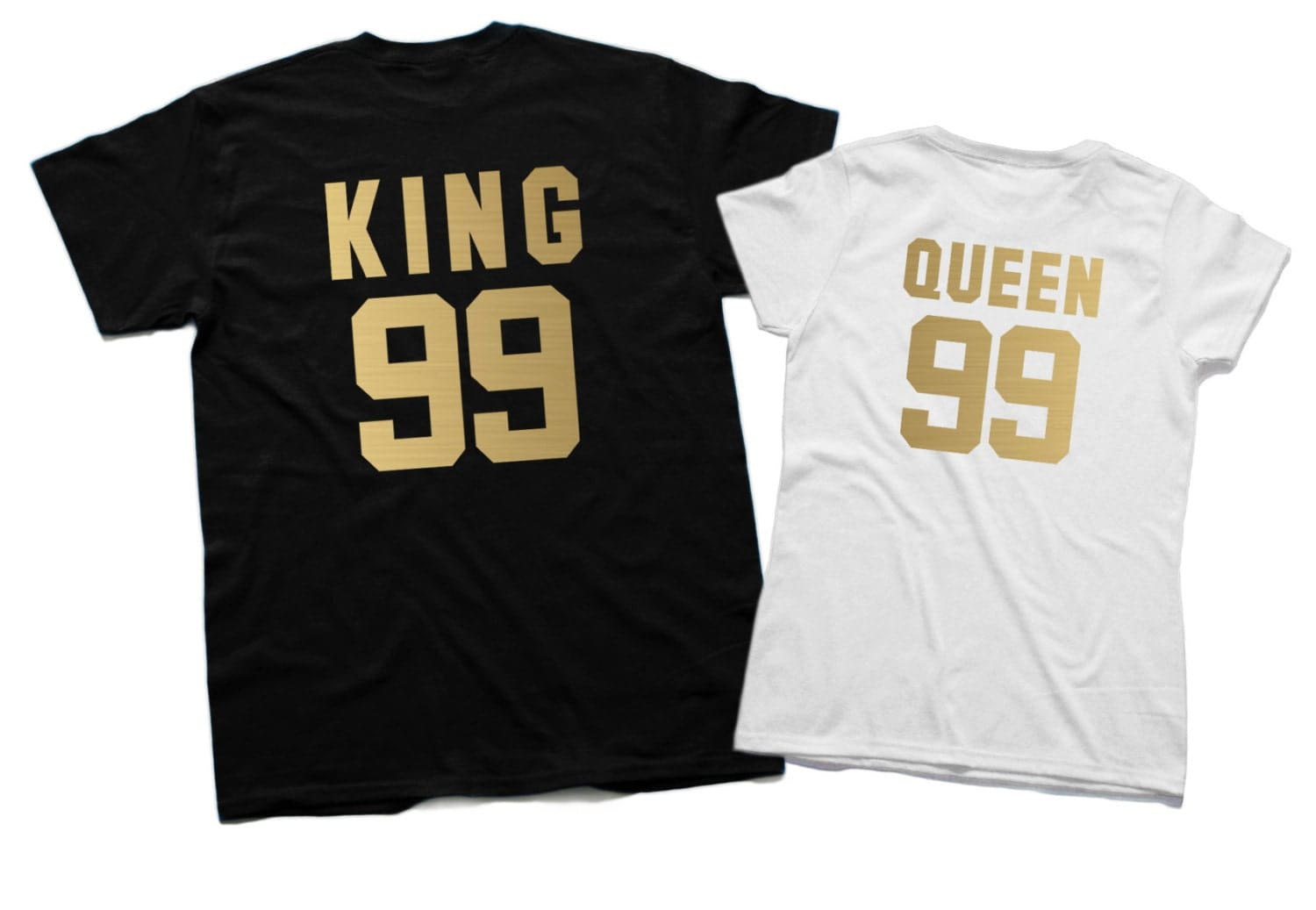 King and Queen shirts King 99 Queen 99 Matching Family