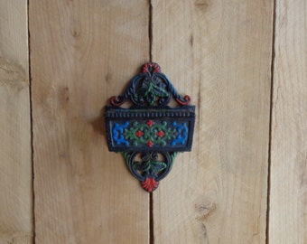 Match Holder By Wilton Wall Hanging