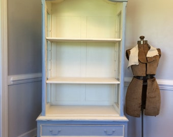 Blue French Hutch