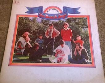 Vintage 1970 The Beach Boys Sunflower Record