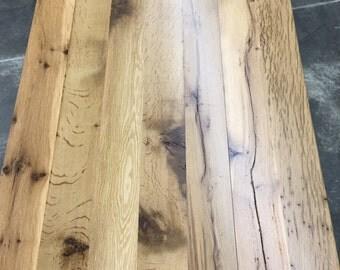 Handmade reclaimed barn lumber tables
