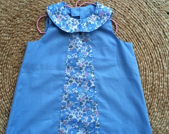 Liberty Print Baby Girl Dress