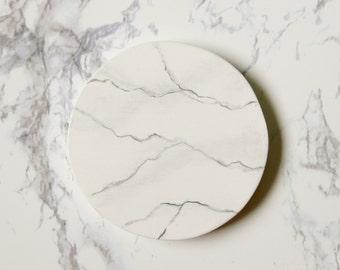 Marble Pattern Pocket Mirror -5