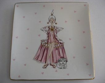 Global Designs - Kate Williams - Candy Plate Tray