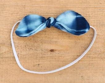 Baby Shibori Knot Headband